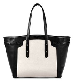 Shop for Women's Marylebone Tote Bag - Light Monochrome by Aspinal of London at ShopStyle. Now for Sold Out. Aspinal Of London, Radley Bags, Polka Dot Purses, Pink Tote Bags, Tote Purse, Tote Handbags, London Bags, Ladies Of London, Leather Purses