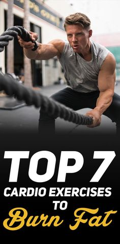 If your goal is fast weight loss, then you really need to check out the Top 7 Cardio Exercises to Burn Fat!