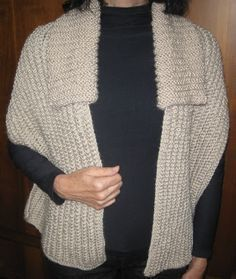 – with revenue - Everything About Knitting Ladies Cardigan Knitting Patterns, Knitting Stitches, Baby Knitting, Poncho Au Crochet, Crochet Baby, Knit Crochet, Knitting Projects, Crochet Projects, Cardigans For Women