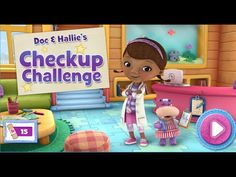Disney's Doc McStuffins - Doc and Hallie's Check Up Challenge - YouTube