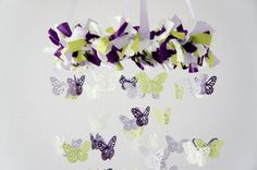 Hey, I found this really awesome Etsy listing at https://www.etsy.com/listing/99750069/purple-nursery-decor-butterfly-mobile