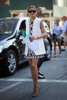 Olivia Palermo At  New York Fashion Week Spring 2015