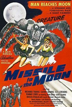 Missile to the Moon - 1958 - Movie Poster