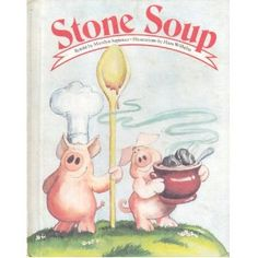 Stone Soup....Oh my sweet Lauren, how many times did we read this! Sweet Memories  of Molly & Max <3
