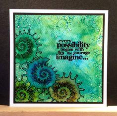 Wendy's Card Craft: Spiral shell - Designs by Ryn.