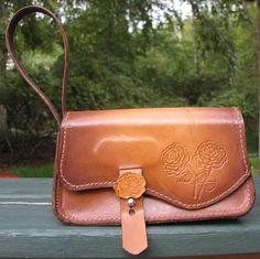 Leather+Wristlet+Handbag+with+Roses