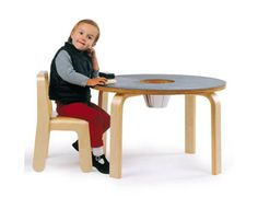 offi Product Woody Chalkboard Table