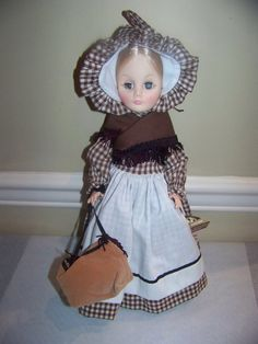 Effanbee Fronteir woman 14 inch doll Salute to the by danishjane