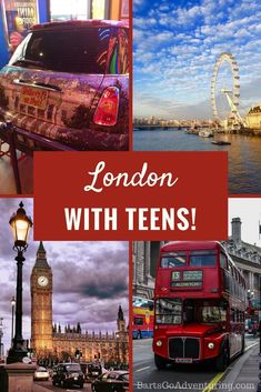 Things to do in london for teens england - travel and road t Travel Couple, Family Travel, Things To Do In London, Travel Destinations, Travel Tips, Budget Travel, Travel Ideas, All Family, France Travel