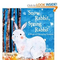 Snow Rabbit, Spring Rabbit: A Book of Changing Seasons is a good book for teaching students how weather and seasons affect wildlife and how their needs and characteristics change according to the season.