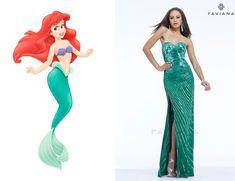Ariel | Community Post: If Disney Princesses Went To Prom