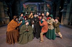 A Dickens Christmas Carol at Silver Dollar City's An Old Time Christmas