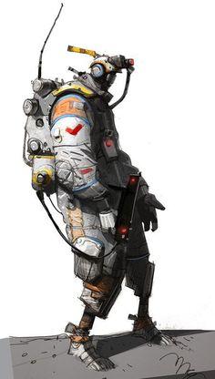 Spacedude by Ian McQue