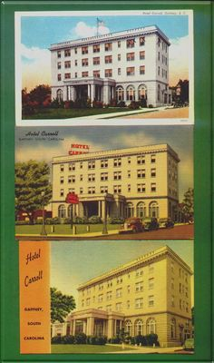 Carroll Hotel, Gaffney, SC