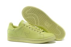 Raf Simons X Adidas Originals Stan Smith All Green Trainers