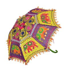 Double Layer Inside Out Folding Umbrella Reverse Inverted Windproof Vintage Graphic Indian Lotus Ethnic Umbrella Upside Down Umbrellas with C-Shaped Handle for Women and Men