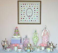festa batizado, chá parisiense, ladurée confeitaria, festa criança, festa menina, girls party