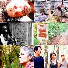 """The Walking Dead ~ 5x1 """"No Sanctuary"""""""