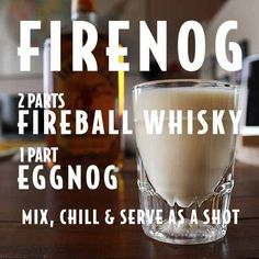 Firenog- Christmas drink