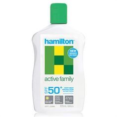 Hamilton Active Family Losyon SPF50+ 125 ml ürünü ile güneşin zararlı etkisini en aza indirerek cilt yapınızda oluşabilecek problemlerin önüne geçebilirsiniz. Ayrıca dilerseniz diğer Hamilton ürünlerinin detaylarını http://www.narecza.com/hamilton adresinden inceleyebilirsiniz. #hamilton #güneş #bakımı #losyon #krem #spf #ciltbakımı #güneşkoruyucu #hamiltongüneş #hamiltonürünleri