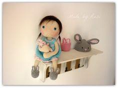 ♡ Amigurumi Crochet Doll Lily by Rusi Dolls por RusiDolls en Etsy
