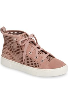 1.STATE Dulcia Perforated High-Top Sneaker (Women) available at #Nordstrom