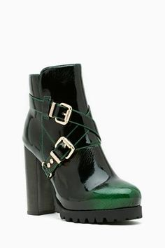 Mercer Buckled Ankle Boot by #JeffreyCampbell