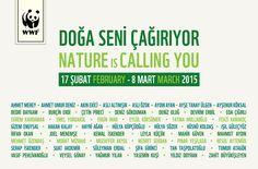 """2015 Küratörlüğünü Denizhan Özer'in yaptığı """"Doğa Seni Çağırıyor"""" adlı karma sergi, 18 Şubat – 8 Mart 2015, Zorlu Center Performans Sanatları Merkezi, İstanbul."""