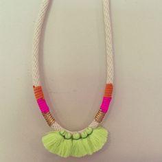 Emeldo tropical Ariel necklace