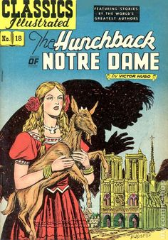 Classics Illustrated 018 Hunchback of Notre Dame (1944)
