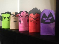 Teen Titans Go! Printables by ClearlyCandace