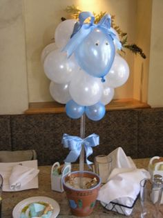 Chris - Can Stacey help us make these??? She was so creative with Regina's shower!  baby+shower | pORFAVOR IDEAS PARA BABY SHOWER DE BORREGUITOS