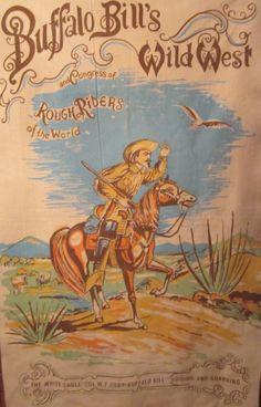 Buffalo Bill Cody Wild West Cowboy Fleece by melusinamermaid North Platte Nebraska, Wild West Show, Wild West Cowboys, Antique Bottles, Le Far West, Buffalo Bills, Mountain Man, Jackson Hole, Tattoo Fonts