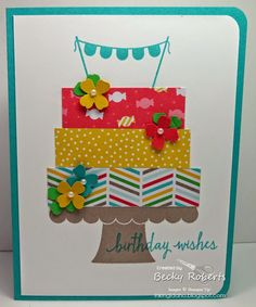 stampin up build a birthday - Google Search