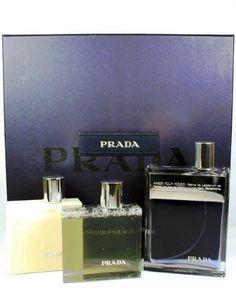 Prada Amber Pour Homme Cologne Gift Set for Men EDT Spray, After Shave & Shower Gel by Prada. $77.00. Prada Amber Pour Homme Gift Set Includes:. For Men. 3.4 oz Eau De Toilette Spray. 3.4 oz After Shave. 3.4 oz Shower Gel. Prada Amber Pour Homme was launched in 2006 by the design house of Prada. This Prada Amber Pour Homme 3 piece gift set for men contains a 3.4 oz EDT Spray,  3.4oz After Shave, and 3.4 oz Bath & Shower Gel For Men.