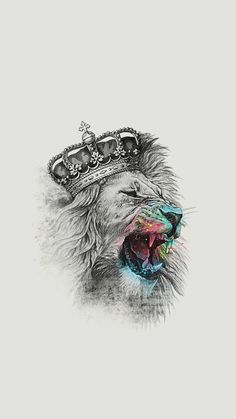 The lion's majesty is something we can all acknowledge. The king of the jungle and leader of the pride, the lion symbolises power, strength, prowess – all a Bild Tattoos, Neue Tattoos, Body Art Tattoos, Tattoo Drawings, Art Drawings, Trendy Tattoos, Cool Tattoos, Tatoos, Image Swag