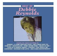 The #BestOf #Debbie #Reynolds features #DebbieReynolds' sweet voice against soft string arrangements; it includes the hit #Tammy. #CD #GreatestHits #Essential #TraditionalVocal