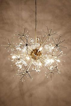 Dandelion Orbit Chandelier - anthropologie.com