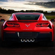 The Chevrolet Corvette rear end is simply divine!