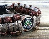 Compass Paracord Bracelet, RESERVED for PARACORD GIVAWAY