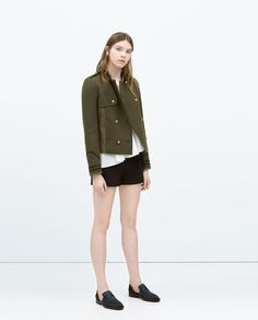 Image 5 of COMBINED ARMY JACKET from Zara