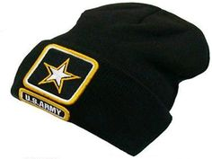 23rd Infantry Division Men/&Women Warm Winter Knit Plain Beanie Hat Skull Cap Acrylic Knit Cuff Hat
