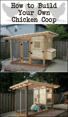 Do you need a chicken coop in your backyard? How about building this one?