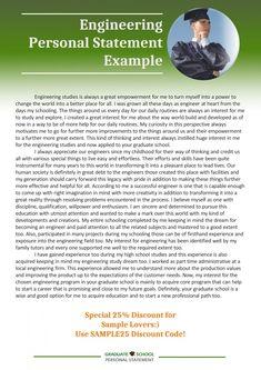 Engineering college admissions essay