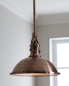 """Industrial"" Pendant Light at Horchow."