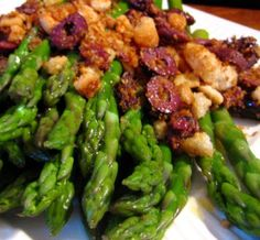 Asparagus with Toasted Bread Crumbs and /My Own Sweet Thyme