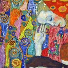 Hope II (detail) by Gustav Klimt. Professional Artist is the foremost business magazine for visual artists. Visit ProfessionalArtistMag.com.- www.professionalartistmag.com