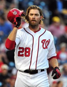Jayson Werth  Broke many hearts when he left the Phillies for the Nats!