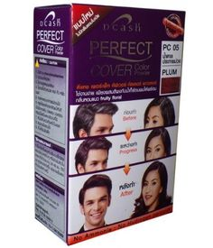 Shampoo-In Hair COLOR Permanent Dcash Perfect Cover Plum *** You can get more details by clicking on the image.