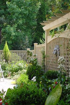 privacy fence ideas patio | traditional patio by Kenneth Lynch & Associates